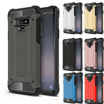 Hybrid Luxury Shock Proof Armor Case Cover For Samsung Galaxy S6 S7 S8 S9 Note 9