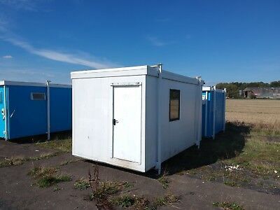 Small Portable Cabin Store Building site cabin Office 16ft Gatehouse