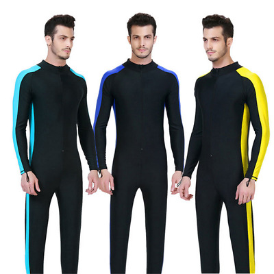 Men's Stinger Suit Waterski Full Suit UV Sun Protection One Piece Swimwear