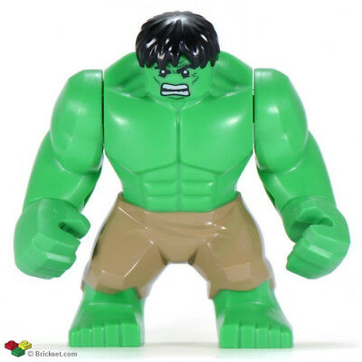 Marvel Super Heroes Incredible Hulk 2 Mini Figure Avengers,Spiderman Fit lego