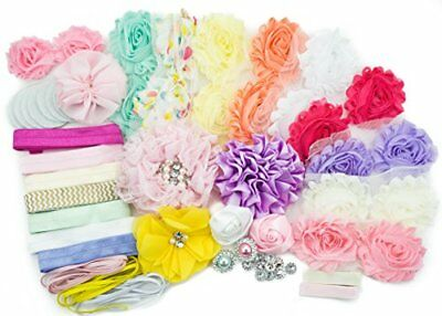 Baby Shower Games Party Supplies Station DIY Headband Kit by JLIKA - Make 20 and