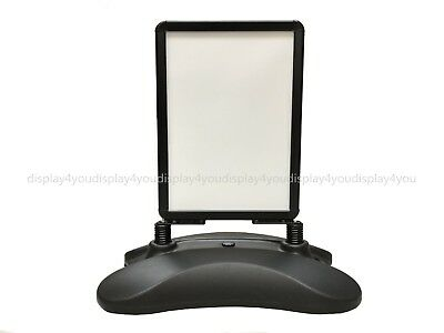 New A2 Black Windmaster Pavement Sign A-Board- Snap Frame Shop Display Stand