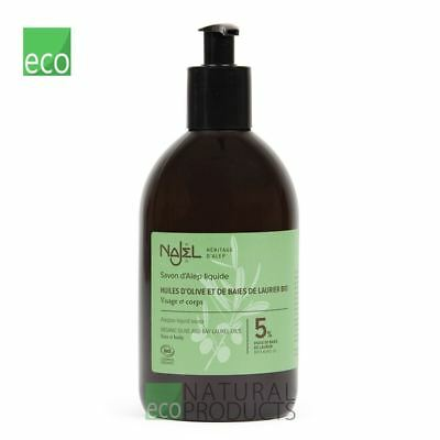 Najel Aleppo Liquid Soap  500ml