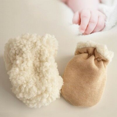 Soft Baby Mittens Winter Kids Gloves Warm Children Cashmere Infant  New Toddler