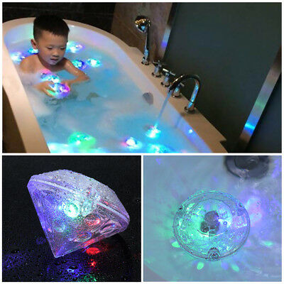 Bathroom LED Light Kids Color Changing Ball Funny Waterproof In Tub Bathing Toys