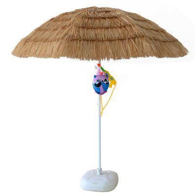 Superieur 7ft Hula Thatched Tiki Umbrella Hawaiian Style Beach Patio Umbrella Natural  Colo