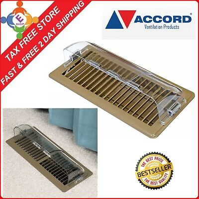 Air Conditioner Deflector Heating Floor Register Ceiling Vent Magnetic Cover NEW