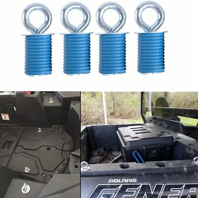 4 x Polaris Lock & Ride ATV Tie Down Anchors for RZR, Sportsman and Ace Parts