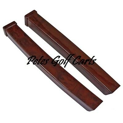 Golf Cart Dash Trim Wood Grain Ezgo TxT 1994 to 2013