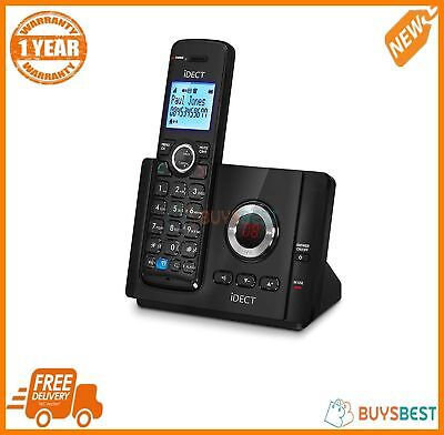 iDECT Vantage 9325 Digital Cordless Telephone With Answer Machine Single Black