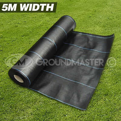 5M X 10M Groundmaster™ Heavy Duty Weed Control Fabric Ground Cover  Membrane