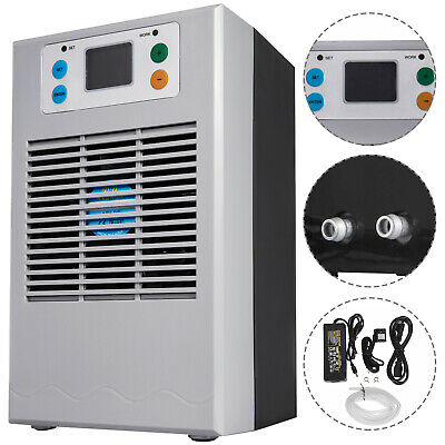 35L 100W Aquarium Water Chiller Fish Tank Shrimp Cooling Crystal refrigeration