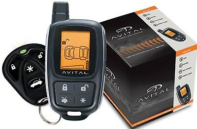 Avital 5305L 2-Way Paging Remote Start/Keyless Entry & Security System Brand NEW