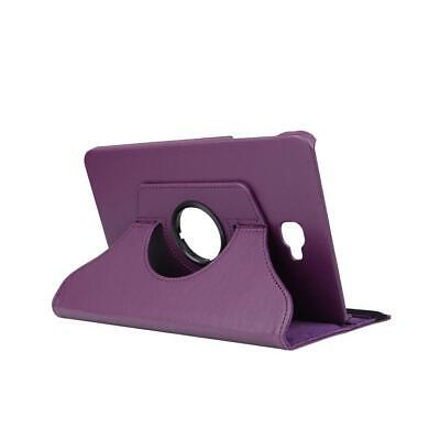 Samsung Galaxy Tab A 10.1 T580 T585 360° Cover Case Tablet Hülle lila Tasche