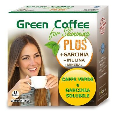 Green coffee for Slimming PLUS, CAFFE VERDE più GARCINIA per DIMAGRIRE