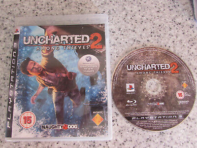 Playstion 3 Ps3 Game Uncharted 2 Among Thieves