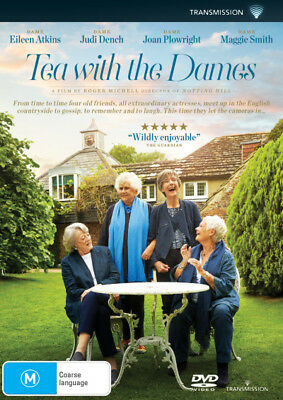 Tea with the Dames  - DVD - NEW Region 4