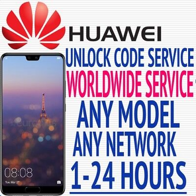 Huawei Any Model Factory Unlock Code Service Any Carrier Worldwide