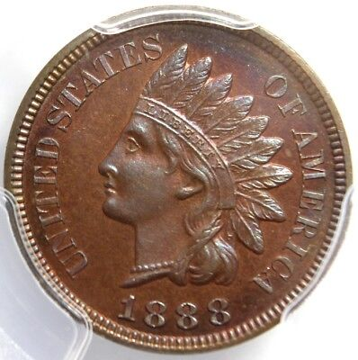 1888, INDIAN HEAD CENT, PCGS PR 66 BN,  Tom's Coin-Currency