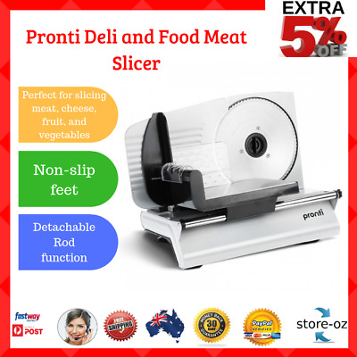 200W Electric Food Slicer/Slices Meat Cheese Fruit Vegetables Bread/Deli Cutter*