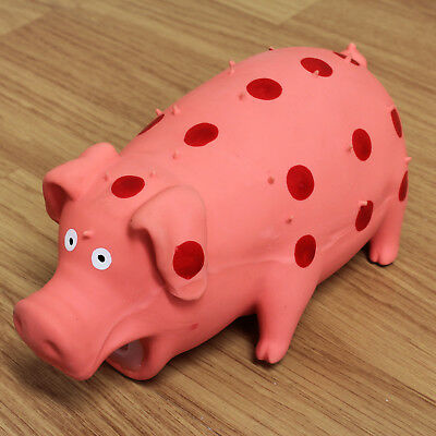 Pig Squeaker Toy For Pet Dog/Puppy Chew/Play/Fetch/Fun/Strong Gift Squeaky Noise