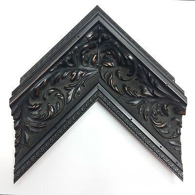"""3 3/4"""" Readymade Wood Picture Frame (Antiqued Gothic)"""