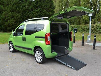 2013 13 Fiat Qubo 1.3TD MyLife Wheelchair Accessible Vehicle