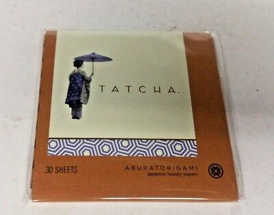 Tatcha Aburatorigami Japanese Beauty Papers 30 Sheets