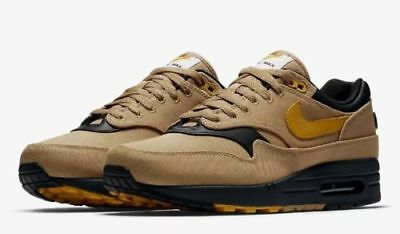 info for ed267 48d34 New Nike Air Max 1 Premium Elemental Men s Shoes Gold Mineral Yellow 875844  700