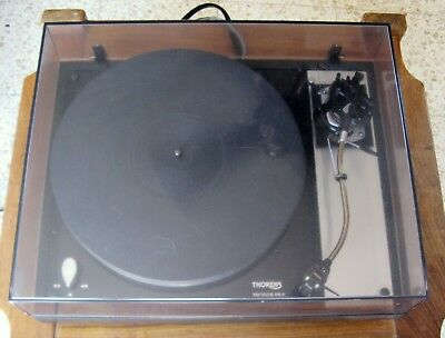 THORENS TD160 MKII SME 3009 Series III S3 ToneArm LP Turntable Mint Boxed  220VAC