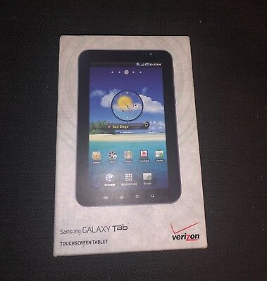 NEW SAMSUNG GALAXY Tab SCH-I800, Wi-Fi + 3G (Verizon), 7in - Black