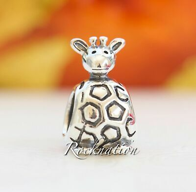 Authentic Pandora Sterling Silver Giraffe Charm 790274