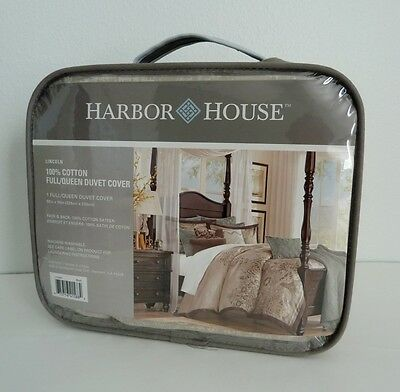 Harbor House LINCOLN Multi Full / Queen Duvet Cover  100%Cotton