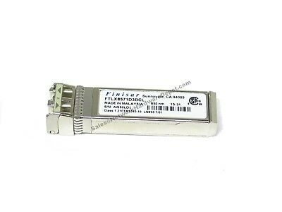 Finisar FTLX8571D3BCL SFP+ 10Gb SR 850nm Transceiver TESTED - 1 Year Warranty