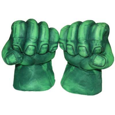 NEW One Pair of Marvel Hero Green Hulk Smash Hands Toy Gloves Boxing Fists toy7