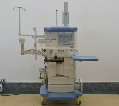 Drager Apollo Anesthesia Machine Recent Certification (16133)