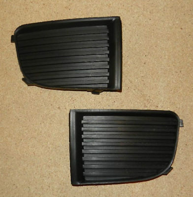 Skoda Fabia 2000 - 2004 New Front Bumper Lower Grille Trim Front Left + Right