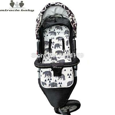 2017 Fashion Baby Diaper Pad New Cheap Baby Stroller Cushion Cotton Stroller Pad