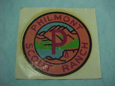 Boy Scout Unused Philmont Scout Ranch window decal