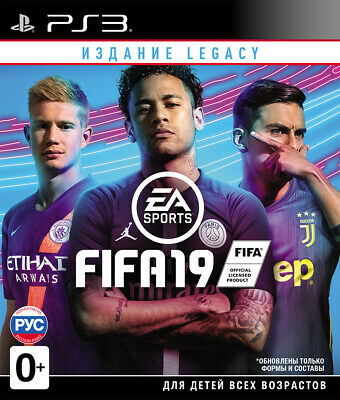 FIFA 19 Legacy Edition (PS3) Eng,Rus,Dutch,French,German,Italian,Polish,Spanish