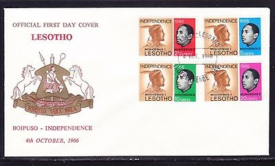 Lesotho 1966 Independence First Day Cover  #2