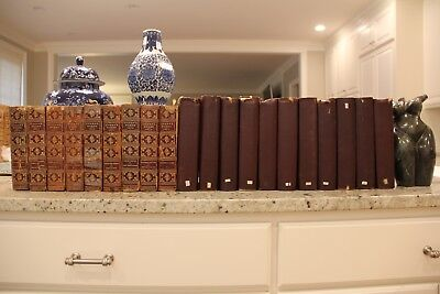 VERY RARE, LIMITED DELUXE VOLUME of 20 ANTIQUE books by Charles Dickens 1800's