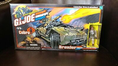 GI Joe vs Cobra ARAH Brawler w/ Heavy Duty figure 2000 MISB