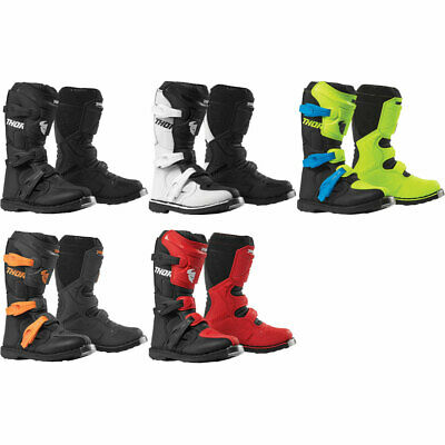 2019 Thor Youth Blitz XP Motocross Offroad Dirt Bike Boots - Pick Size/Color