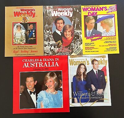 Prince Charles Princess Diana Magazines Wedding Honeymoon Tour 1984 Calendar