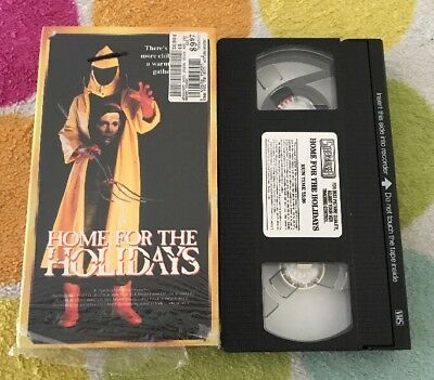 Home for the Holidays - Sally Field - Julie Harris. VHS. RARE• HORROR !!