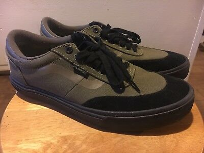 c5ce50cf8eadb1 Vans Gilbert Crockett 2 Pro Olive Green Black Gum Sk8 Hi Old Skool Mens 9