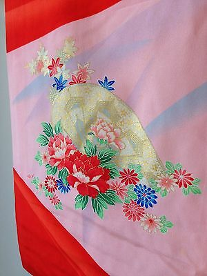 Childs Decorative Vintage Antique Kimono Hand Made One of a Kind Old Kyoto SALE