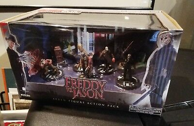 HorrorClix Freddy vs. Jason Action Pack, New