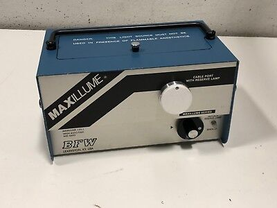 Bfw Maxillume 150-1 Fiber Optic Light Source Unit With Auto Fan Mid-6600